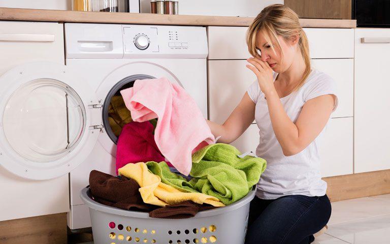 از بین بردن بوی بد ماشین لباسشویی