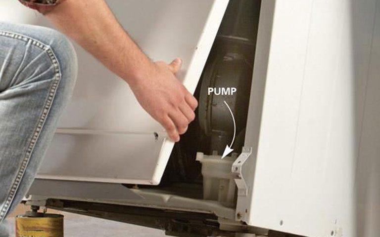 نحوه تعمیر پمپ تخلیه ماشین لباسشویی