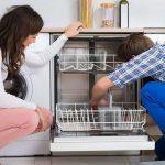 خاموش شدن ماشین ظرفشویی در حین کار