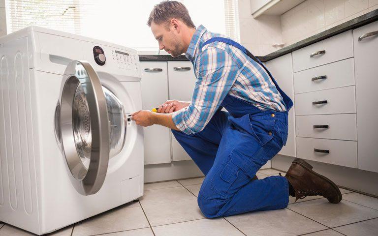 توقف ناگهانی ماشین لباسشویی