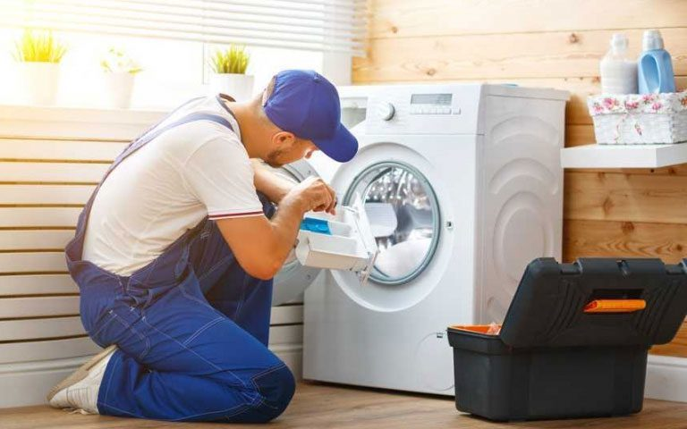 خاموش شدن ناگهانی لباسشویی