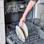 سیستم سختی گیر آب در ماشین ظرفشویی