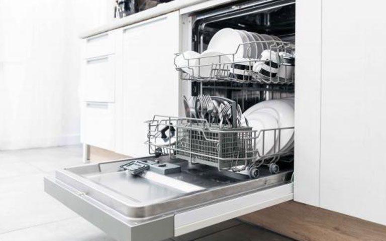 سختی گیر آب در ظرفشویی
